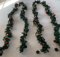 Outdoor Holiday Garland (60ft) and matching wreath Virginia Beach, 23456