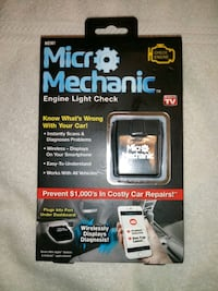 """As Seen on TV"" Micro Mechanic Vehicle Diagnostic  Cross Lanes"