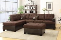 Brand New Sectional - Avail in two colors Woodbridge