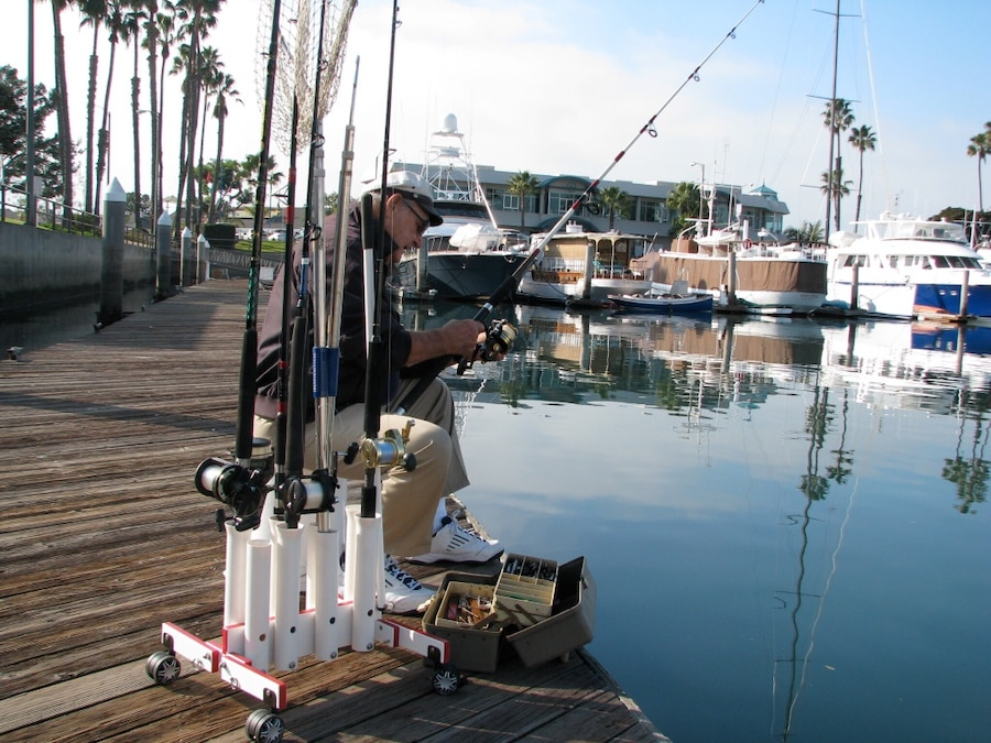 Used sports and fishing in los angeles for Fishing los angeles