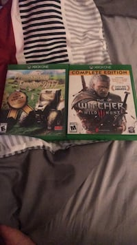 two Xbox One game cases Cincinnati, 45245