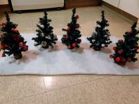 Mini red & silver Christmas Trees ( Read Ad ) Kitchener, N2G 4X6