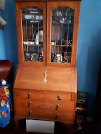 brown wooden cabinet with drawer Hamilton, L9A 4M7