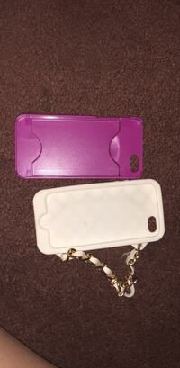 two pink and white iPhone cases North Las Vegas, 89032