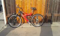 red and black full-suspension bike Los Angeles, 90066