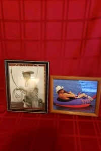 Framed picture of GEORGE STRAIT and ALAN JACKSON