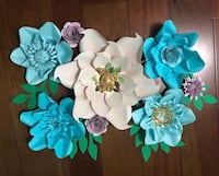New hand made Paper Flowers. Toronto, M9N