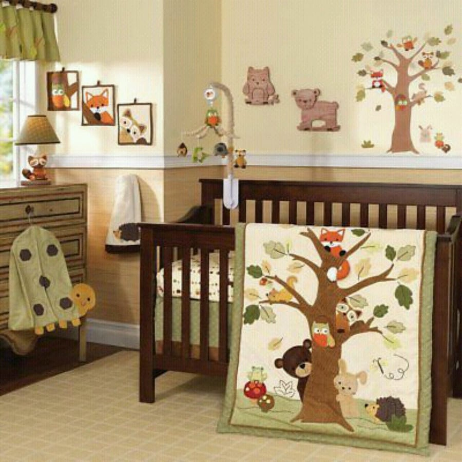 17-Piece Lambs & Ivy Echo Baby Bedding Set
