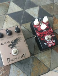 Delay + over drive pedals Toronto, M5R 3S6