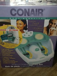 New Conair massage foot spa Toronto, M1K 4V6