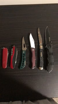 Assorted pocket knifes St. Catharines, L2P 3R6