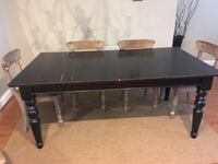 Black Dining Table Fairfax