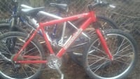 Red Used Cannondale Bike