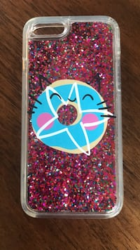 Pink and blue iphone case Williamston, 48895