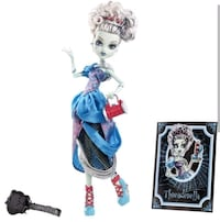 Monster high scarly evee after frankie (aciklama) Izmit