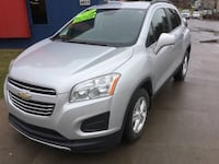 ***MANUFACTURER WARRANTY***2016 Chevrolet Trax LT with LEATHER, BACKUP CAMERA GUARANTEED CREDIT APPR