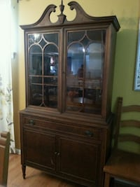brown wooden china buffet hutch Annandale, 22003