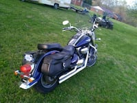 black and blue touring motorcycle Somerset, 42501