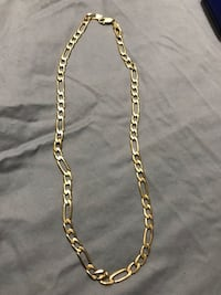 10k solid gold Italian link chain