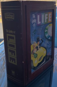Game of Life Wooden Bookshelf 29 km