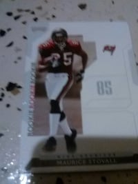 Maurice Stovall trading card