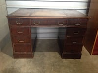 Large oak desk Fairfax Station
