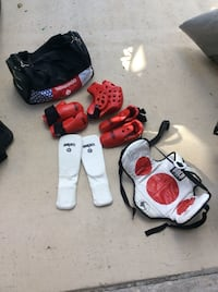 Sparring karate tae kwon do gear