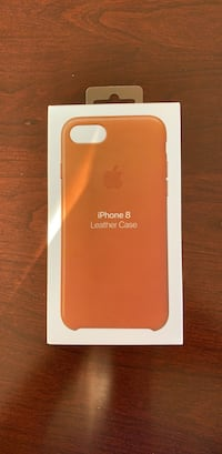 Brand new untouched apple iphone 7-8 phone case leather brown Potomac, 20854