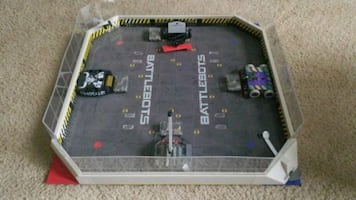 Battlebots area & Bots