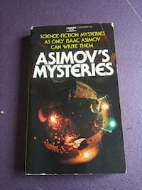 Asimov's Mysteries book