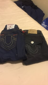 Black true religion denim jeans Toronto, M3J 0E9