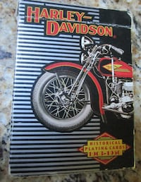 Harley-Davidson Historical Playing Cards Derby