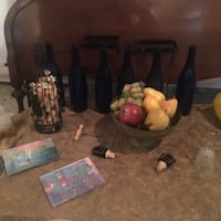 Hodgepodge of Wine Accessories- Round Hill