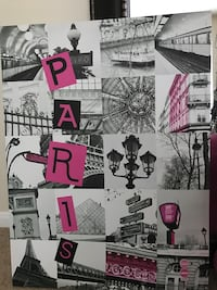 Grayscale paris collage photo Manor, 78653