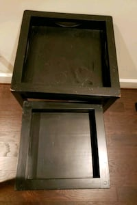 2x Black Nesting tables Brambleton, 20148