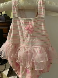 3 size 2T girls bathing suits