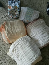 Green mountain diapers and thirties diaper covers