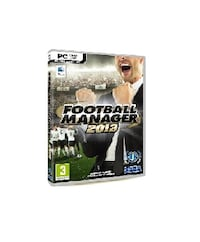 FOOTBALL MANAGER - 2013  PC - DVD -MAC