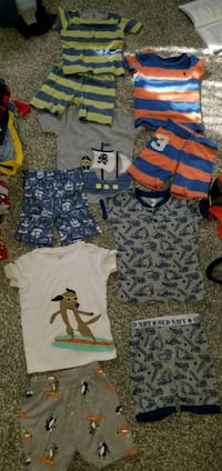 BOYS PJS LOT OF 5 SIZE 4T Fountain Inn, 29644