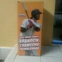 2016 Brandon Crawford bobblehead box Newark, 94560