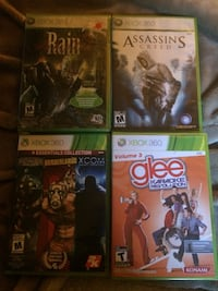 4 Xbox 360 games brand new in package never open Edmonton, T5W