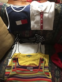 6 sleeveless tops all for $10 size large Lexington, 40504