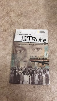 Civil Rights Book (Students on Strike) Boston, 02136
