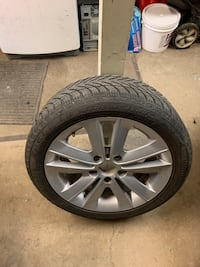 Selling Winter tires with rims Edmonton