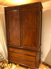 brown wooden cabinet with drawer Toronto, M6E 2N8
