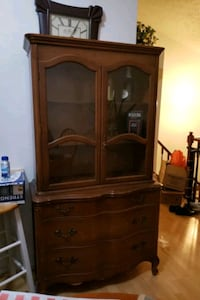 China Cabinet and drawer cabinet combo