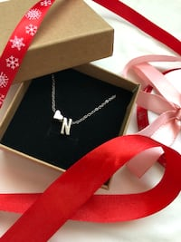 Heart letter necklace, see more letters on my profile Heimdal, 7072