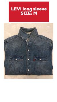 blue denim button-up jacket Pickering, L1V 1N9