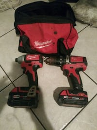 M18 millwaukee brushless hammer drill and impact all metal gears