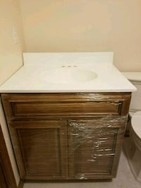 """Brand New 30"""" all wood vanity with sink Chelmsford, 01863"""